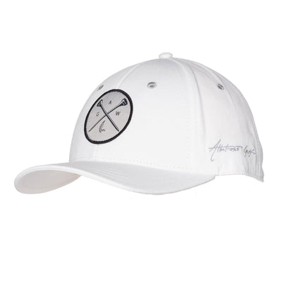 "AGW ""Cross Tees"" White Cross Tees Patch - Cotton Twill Snapback"