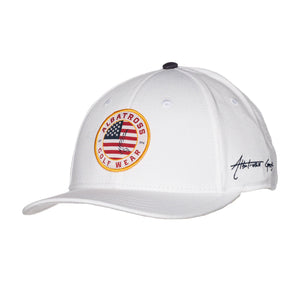 "AGW ""Star Spangled"" USA White Patch - Cotton Twill Snapback"