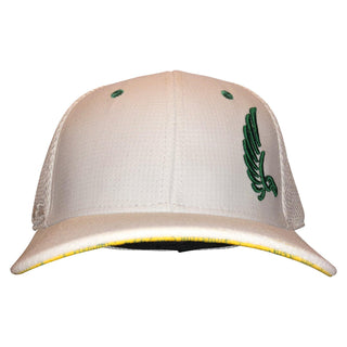 "AGW ""Caddy"" Limited Edition White Stretch Fit Masters Hat"