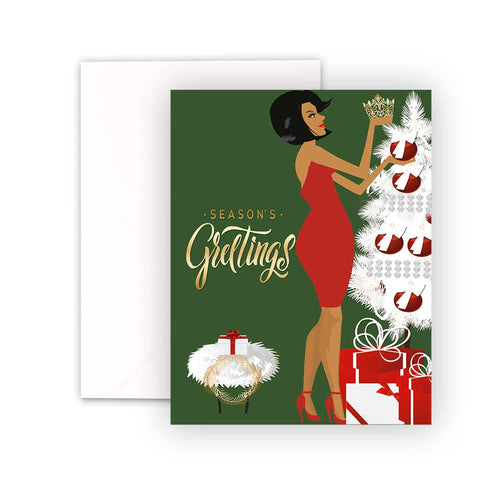 Deck The Halls⎪ Christmas Greeting Cards