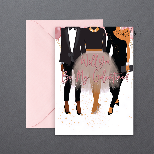 Valentine Day Gal Pack ⎪ An Assorted Pack of Cards Women of color