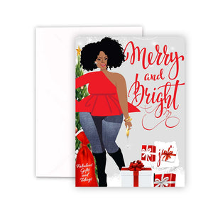 Merry and Bright | Christmas Greeting Cards