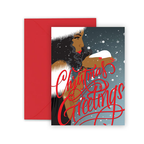 Christmas Greetings⎪African American Greeting Cards Boxed Set