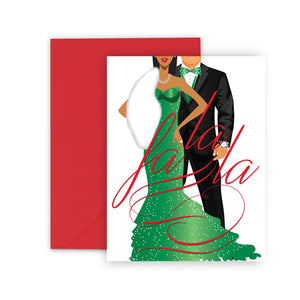 FA-LA-LA⎪African American Greeting Cards Boxed Set