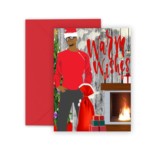 Warm Wishes⎪African American Christmas Greeting Card Boxed Set
