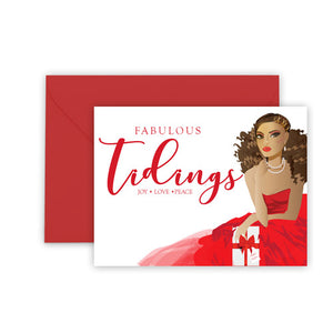 Fabulous Tidings⎪African American Greeting Cards Boxed Set