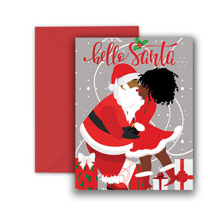 Hello Santa⎪Christmas Greeting Cards