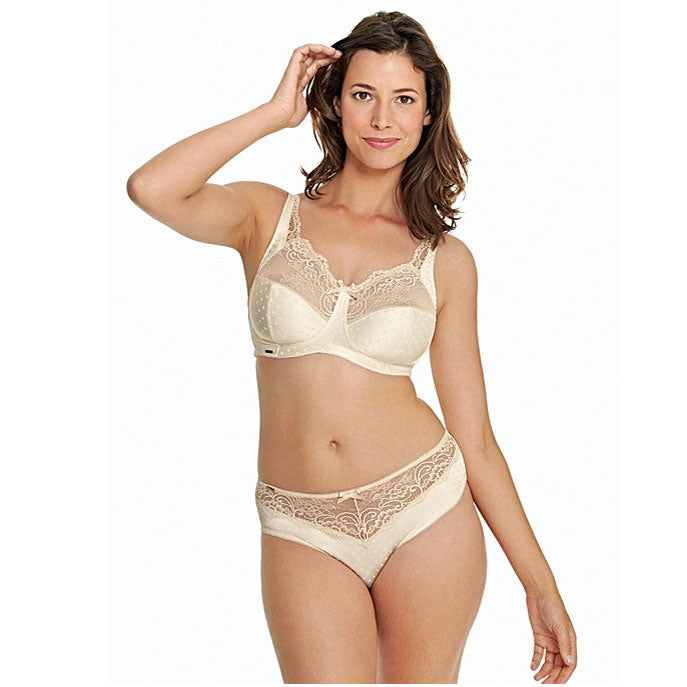 Champagne non wired bra