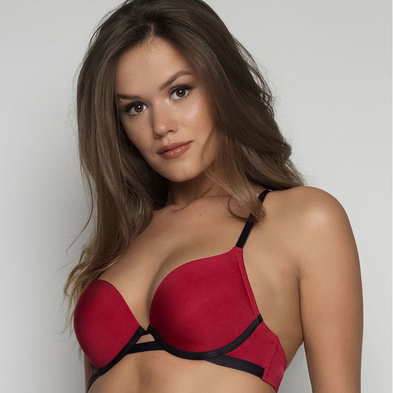 Double Boost Strapless Push up Bra