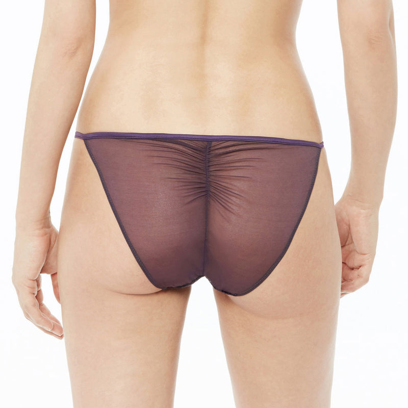 Romance Anglaise string side briefs