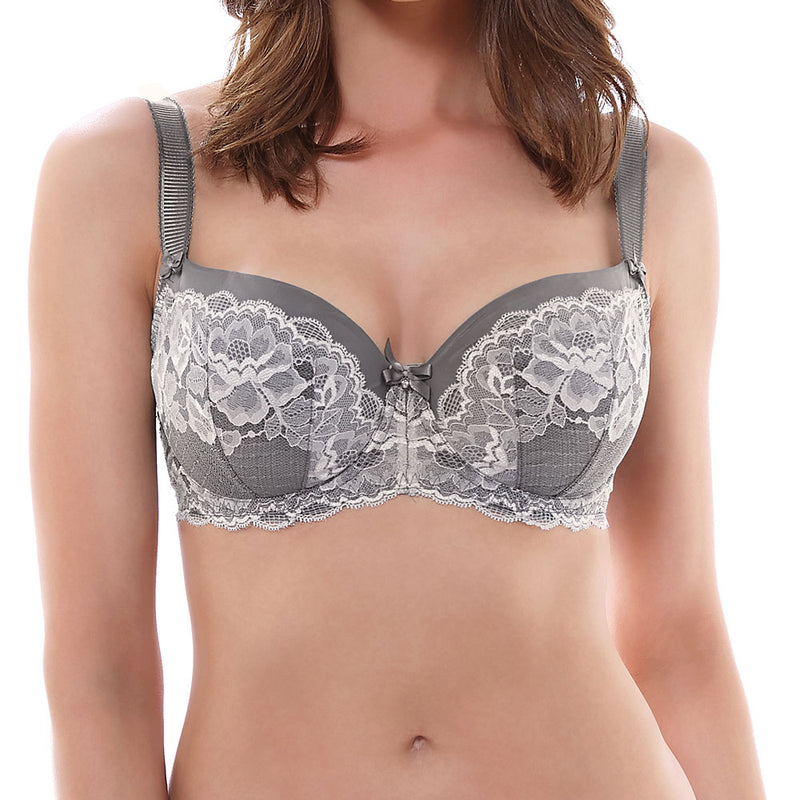 Charlotte non wired bra - Black