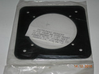 Plate, Instrument  Reducer - AN TO 3 1/8