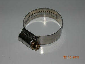 "Clamp, Worm Drive - Hose - Aero-Seal - Breeze - 13/16 to 1 3/4"" - Stainless Band - Steel Hex Screw"