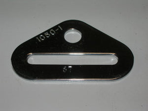 Anchor, Seat Belt Attach - Chrome Plated