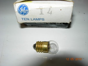 Lamp, 2.47V - .3A - Screw Base - GE