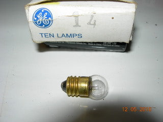 Lamp, 2.47V - .3A - Screw Base - General Electric