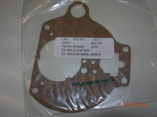 Gasket, Throttle Body To Bowl - Carburetor
