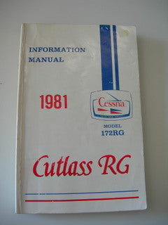 Manual, Cessna - Cutlass 172RG - 1981 - Information Manual
