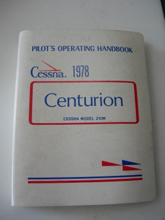 Manual, Cessna - Centurion 210N - 1978 - Pilot's Operating Handbook