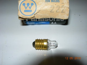 Lamp, 2.25V - .25A - Screw Base - Westinghouse