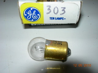 Lamp,  28V - .3A - General Electric