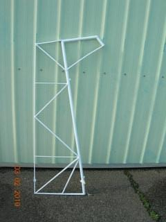 Rudder, Frame - Powder Coated - Citabria