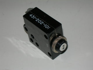 Breaker, Circuit - Push/Reset - 2 Amp