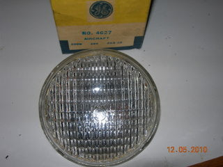 Lamp, 28V - 100W - PAR 36 - General Electric
