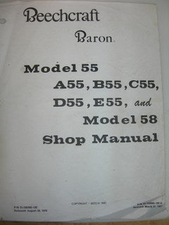 Manual, Beechcraft - Baron 55/58 - Shop
