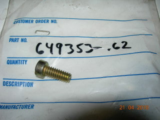 Screw, Rocker Cover - 1/4-20 X 5/8