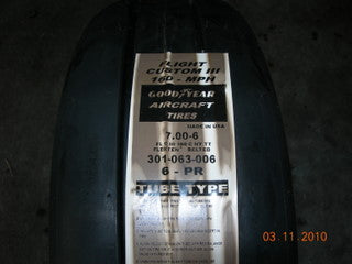 Tire, Goodyear Flight Custom III - 6 Ply