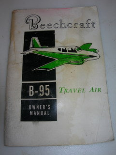 Manual, Beechcraft - B-95 Travel Air - Owner's Manual