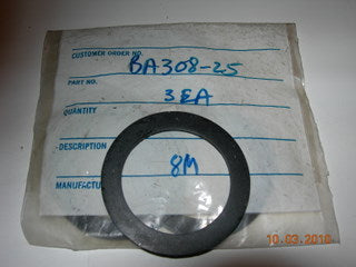 Gasket, Fuel/Oil Cap - Rubber - 2 1/8