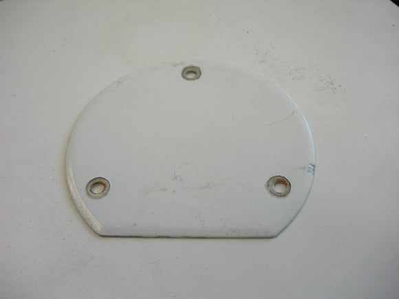 Cover, Plate - Inspection - Round (Flat Bottom) - 3 Holes - Fuel Tank