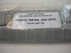 Weight, Tire Balance - .25 Ounce