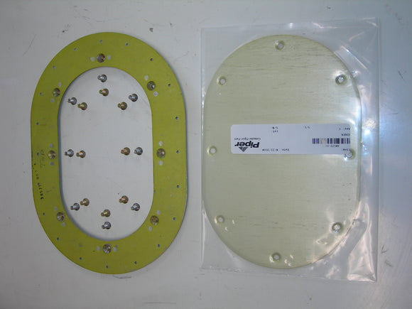 AirWard, Kit, Inspection Cover/Reinforcing (Doubler) Plate - Piper