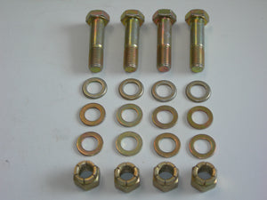 "AirWard - Kit - Wing Attach Fittings - Bolts/Washers/Nuts - ""Inboard"" Single Set Only - PA28/32"