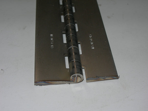 Hinge, Piano - Continuous - Roll Formed - 2