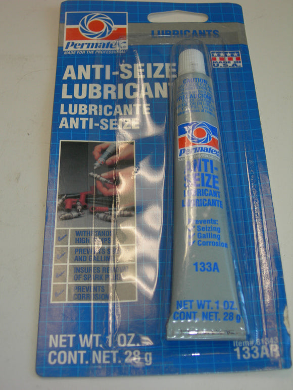 Lubricant, Anti-Seize - 1 Ounce - Permatex