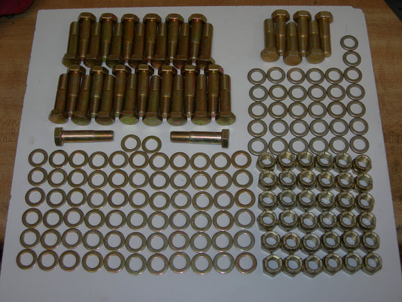 AirWard - Kit, Main Spar Wing Attach Fittings - All (36) Bolts/Washers/Nuts - Piper PA28/32
