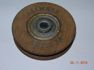 "Pulley, Control - Anti-Friction Bearing - 2"" Dia - 1/4"" Hole - Ralmark"