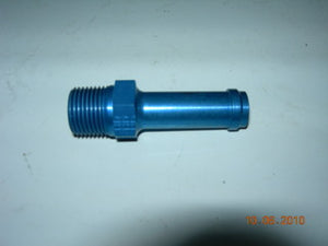 "Nipple, Straight - Pipe/Hose - 3/8"" NPT- 1/2"" Hose"