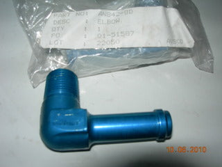 Nipple, Elbow 90' - Pipe/Hose - 3/8