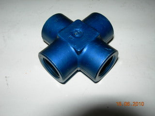 Cross, Pipe/Pipe/Pipe/Pipe - 3/8