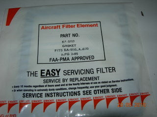 Gasket, Air Filter - Rubber - Brackett