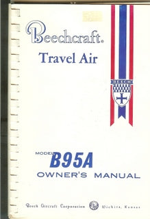 Manual, Beechcraft - B95A - Travel Air - Owner's Manual
