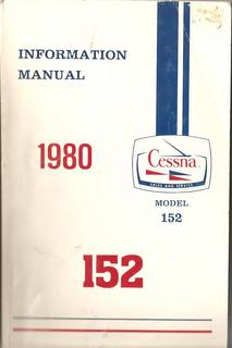 Manual, Cessna - 152 - 1980 - Information Manual