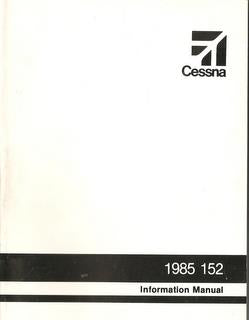 Manual, Cessna - 152 - 1985 - Information Manual