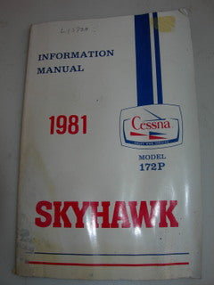 Manual, Cessna - Skyhawk 172P - 1981 - Information Manual