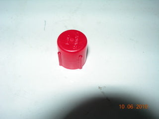 Cap, Protection - Plastic - Female - 7/16-20 - Red